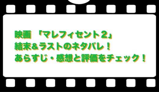 映画 「マレフィセント2」結末&ラストのネタバレ!あらすじ・感想と評価をチェック!
